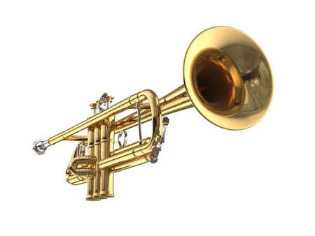 Trompete Standard-Bild