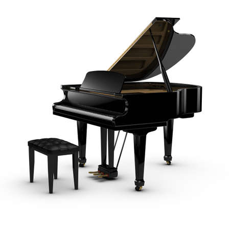 Grand Piano Stock Photo - 10413134