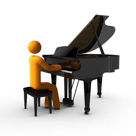 Grand Piano Stock Photo - 10475465
