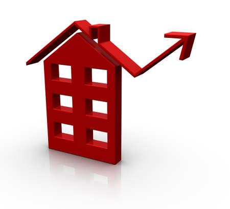apartment market: Apartment market up Stock Photo