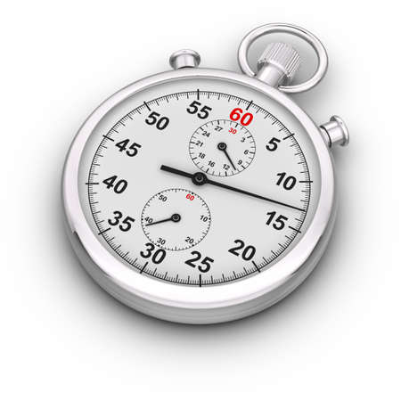 Analog Stopwatch.