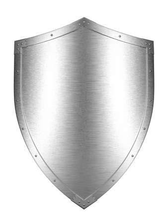 coat of arms: Brushed Metal Shield