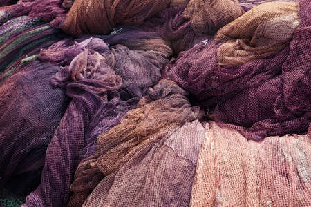 Commercial Fishing Net. photo