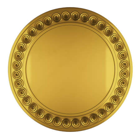 Golden shield Stock Photo - 20688554