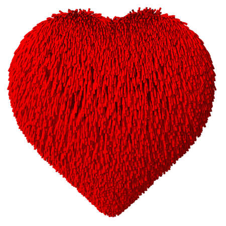 Heart Shape - fur Stock Photo - 20688560