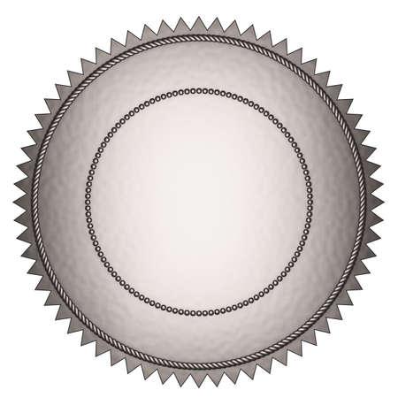silver medal: silver seal