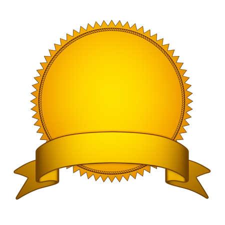 stamper: Golden Seal Stamper with  Gold Ribbon