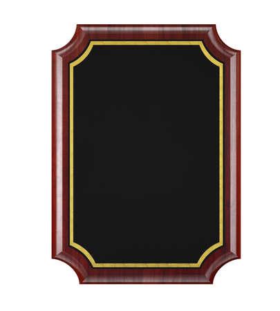wooden plaque: Wood Plaque