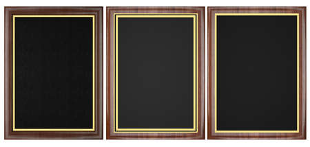 Wood Plaque Collection Stock Photo - 21966856
