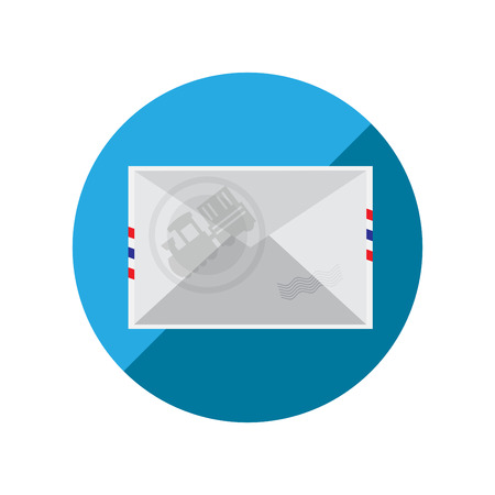 Shipping by Train  Vector Illustration  Vector