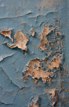 peeledoff: Abstract background with the peeled-off paint Stock Photo
