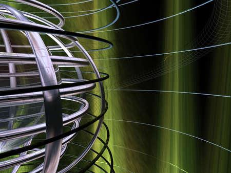 duskiness: Circular grid