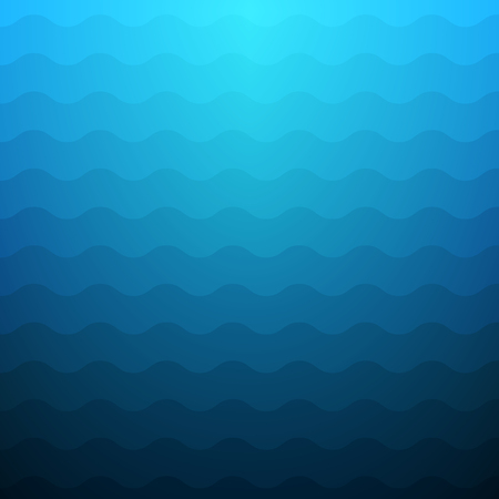 waves: Blue waves abstract background