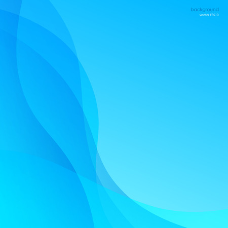 smooth: Blue abstract background, smooth curves