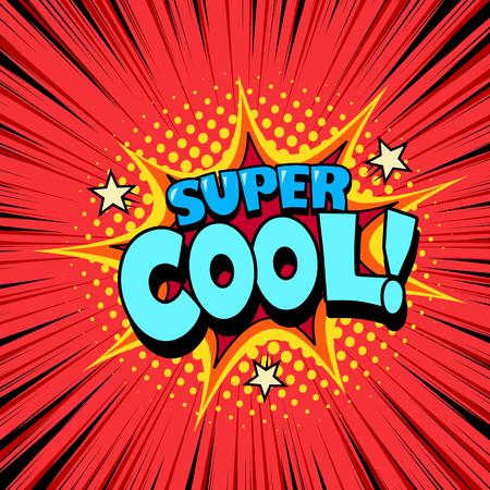 Superhero speech bubble, joyful expression, comic book style Çizim