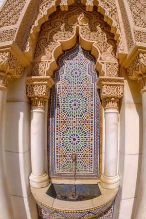 Beautiful architechture of Astaka Morocco or Morocco Pavilion in Putrajaya, Malaysia Editorial