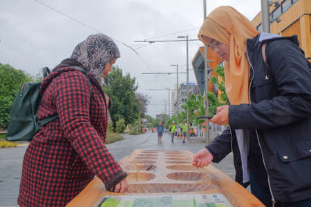 Ayoayo in the street of Cheistchurch. Ayoayo  is a traditional mancala board game played in most of New Zealand. Editorial