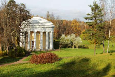 Temple of Friendship in Pavlovsk Park (1780), Saint Petersburg, Russia