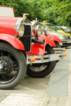 rarity: Rarity and modern cars parking