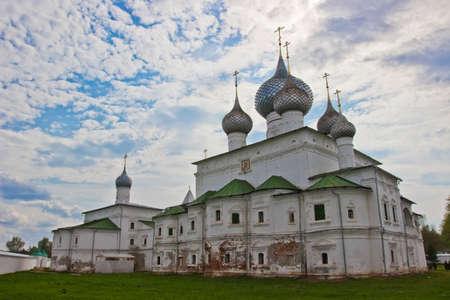 uglich russia: Orthodox Resurrection monastery in town Uglich, Russia