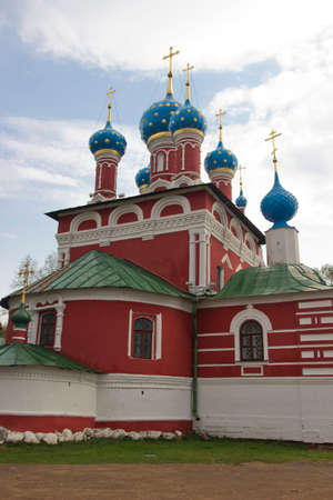 Church of St. Dmitry on the Blood in Uglich, Russia photo
