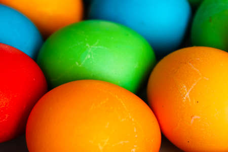 painted eggs: Easter painted eggs Stock Photo