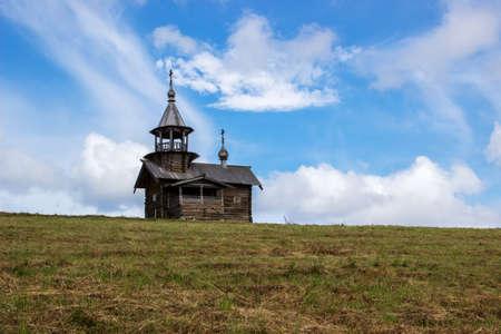 Wooden chapel on Kizhi island