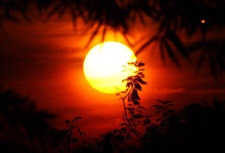 sunrise and sillhoette II photo