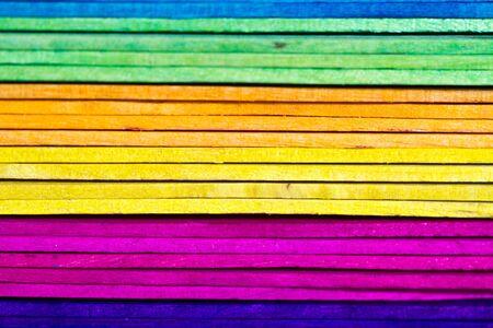 Colorful wood Background III photo