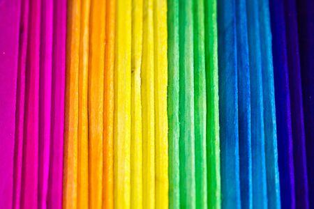 Colorful wood Background I photo