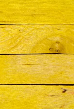 horizontal arrangement of yellow wood in portrait orientation Stock Photo