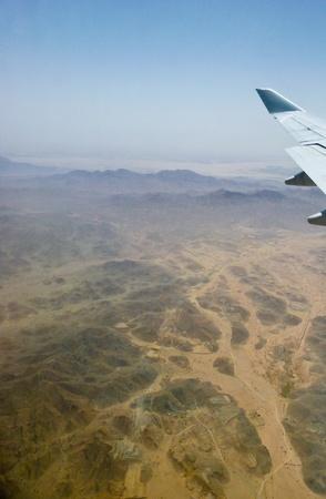 Mountain in the desert photo
