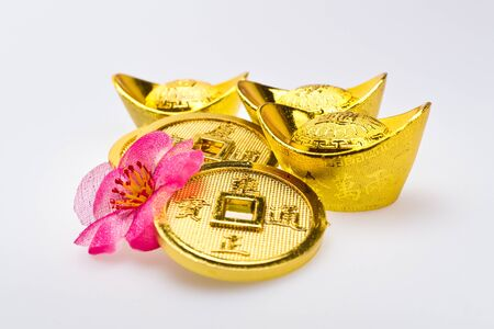 fa: Gold ingots and Chinese Emperor