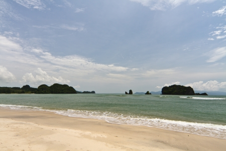 langkawi island: Beach of Langkawi Island facing Andaman Sea