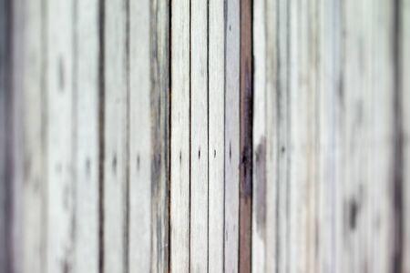 vertical view of wooden deck