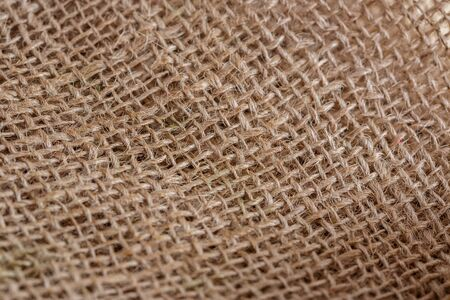 texture of beige brown canvas fabric close Stock Photo