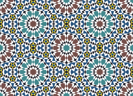 Traditional Morocco Pattern Stock Vector - 15555051