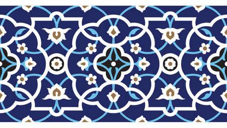 Traditional Arabic Border Stock Vector - 15555018