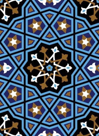 iran mosaic: Traditional Arabic Ornament