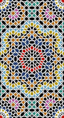 moorish: Almas Stroke Moorish Pattert