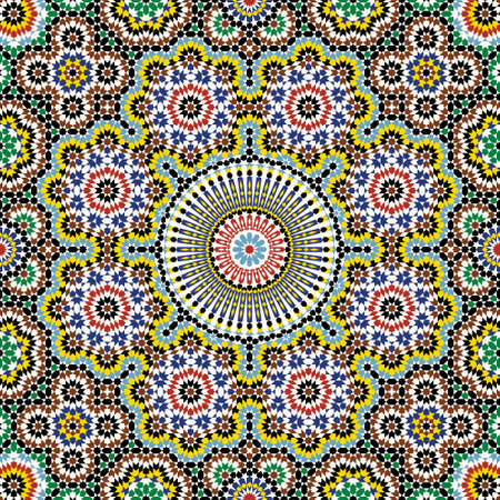 Traditional Morocco Pattern Stock Vector - 15555060