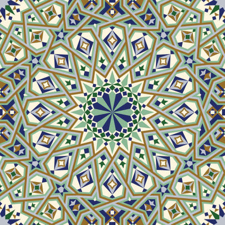 ceramic: Traditional Morocco Pattern Illustration