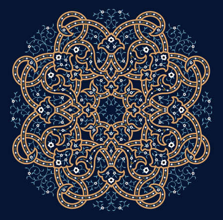 islamic art: Traditional Arabic Ornament