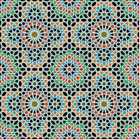 arabe: Mod�le traditionnel Maroc Illustration