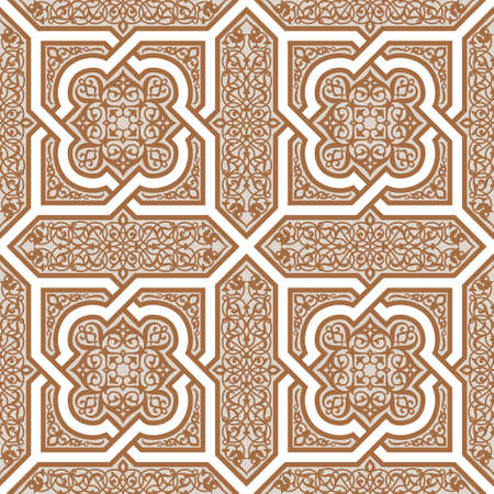 Traditional Morocco Pattern Stock Vector - 15565324