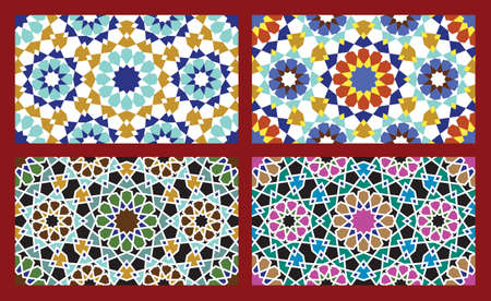 Set of Traditional Morocco Patterns Stock Vector - 15565407