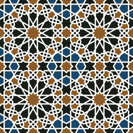 Traditional Morocco Pattern Stock Vector - 15565408