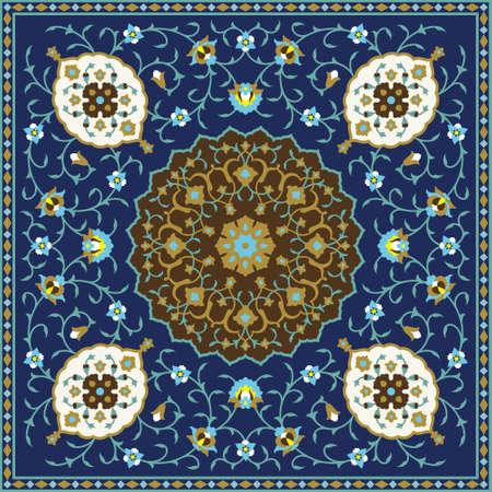 marocchini: Ornamento tradizionale arabo Vettoriali