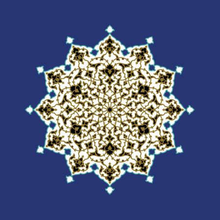 iran: Traditional Arabic Ornament