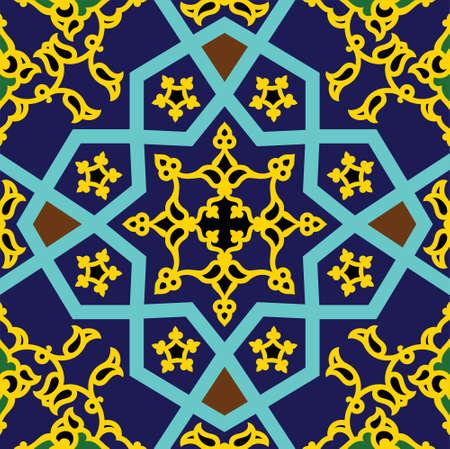 marrakesh: Ornamento tradizionale arabo Vettoriali